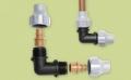 Winkel für Tropfschlauch oder PE Rohr (16mm)